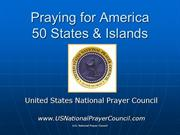 Praying for America share