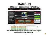 RAMBHQ Introduction