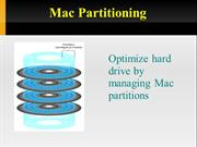 Partitioning Mac Drive to manage data in Mac