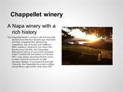 Chappellet Winery in the Napa Valley