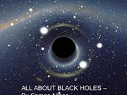 All About Black Holes - By Soman NInan