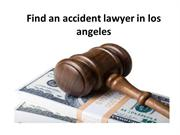 Finding an Accident Lawyer in the Los Angeles Area