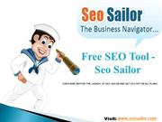 Introduction to SEO Sailor