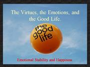 Virtues and the Good Life