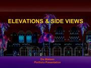 ELEVATIONS & SIDE VIEWS