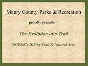 Hiking Trail Presentation.revised