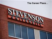 Stevenson University- the career place!