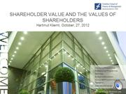 6-ton-Shareholder value and the values of shareholders-1