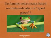 Biology 7 class powerpoint presentation frogs