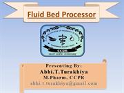 Fluid bed processor_abhi