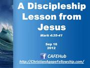 A Discipleship Lesson from Jesus