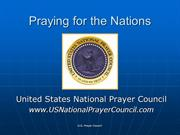 Praying for the Nations share