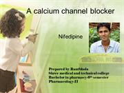 A calcium channel blocker