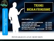Psikologi ( Teori Behaviorisme )