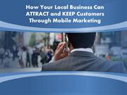 Mobile Marketing at  Higher Level