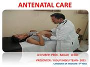 ANTENATAL CARE