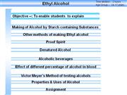 Ethyl alcohol preparation3