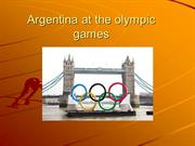 Argentina at the olympic games