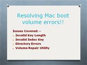 Repair corrupt Mac volumes with Stellar Volume Repair