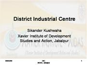 District Industrial Centre