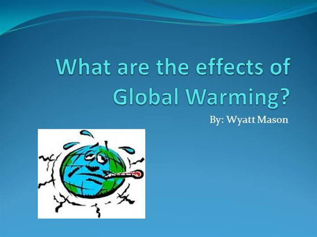 essay on global warming and its consequences