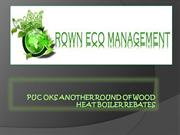 PUC OKs another round of wood heat boiler rebates