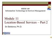 Module 11 - Location Based Services - 2