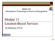 Module 11 - Location Based Services 1