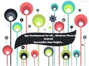 App Development for iOS, Windows Phone & Android