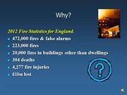 Why fire safety
