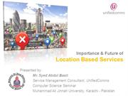 Location Based Services & SoLoMo