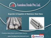 Stainless Steel Round Bar by Aesteiron Steels Pvt. Ltd., Mumbai