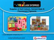 Color Pigments And Dyes by Classic Enterprises, Mumbai