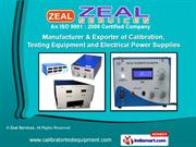 Calibrators & Measuring Instruments by Zeal Services, Pune