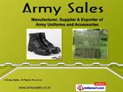 Army Uniforms & Accessories by Army Sales, New Delhi