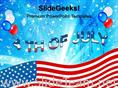 4TH JULY USA INDEPENDENCE DAY POWERPOINT THEME