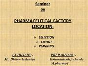 pharmaceutical factory location