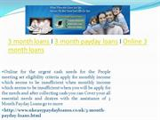 Online 3 month payday loans Today apply now