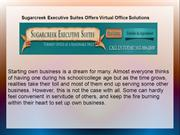 Sugarcreek Executive Suites Offers Virtual Office Solutions