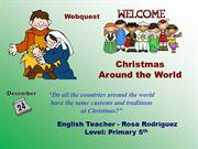 Webquest Christmas Around the World