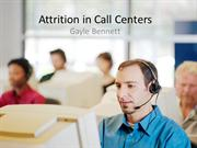 Attrition in Call Centers
