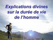 Explications Duree De Vie de l'Homme