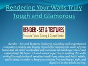 Cement Render To Renovate Your Building