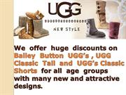 UGG Boots Sale UK- UGG Boots Bailey Button for Sale