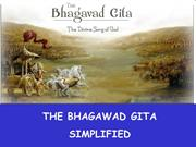 The Essence of the Bhagawad Gita
