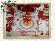 Christmas Decorating Ideas (Tables)