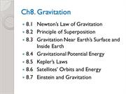 Phys1110Ch8-Gravitation
