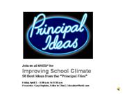 NAESP Promo: Improving School Climate