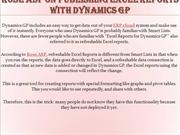 Rose ASP on Publishing Excel Reports with Dynamics GP