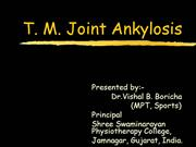 tm joint ankylosis